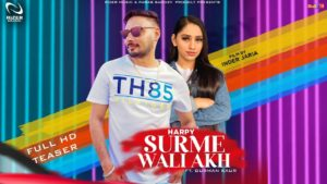 Lyrics of Surme Wali Aakh Song by Harpy
